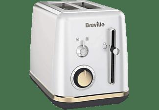 Tostadora - Breville VTT935X, 980 W, 2 Rebanadas, Función descongelación y Recalentado, Plata