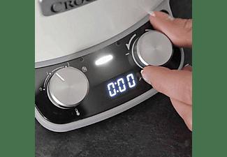 Olla - Crock-Pot CSC027X, De cocción lenta, 205 W, 6 l, Blanco