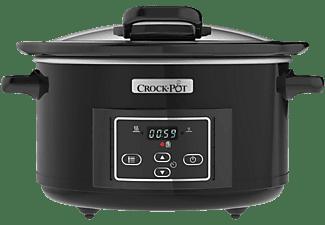 Olla - Crock-Pot CSC052X, De cocción lenta, 220 W, 4.7 l, Negro