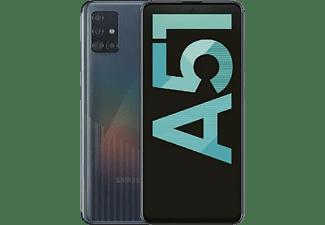 "Móvil - Samsung Galaxy A51, Negro, 128 GB, 4 GB RAM, 6.5"" Full HD+, Exynos9611, 4000 mAh, Android"