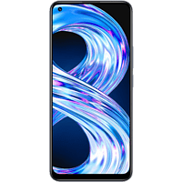 "Móvil - realme 8, Negro, 64 GB, 4 GB, 6.4"" FHD+, MediaTek Helio G95, 5000 mAh, Carga 30 W, Android"