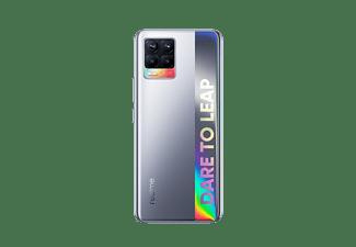 "Móvil - realme 8, Plata, 64 GB, 4 GB, 6.4"" FHD+, MediaTek Helio G95, 5000 mAh, Carga rápida 30 W, Android"