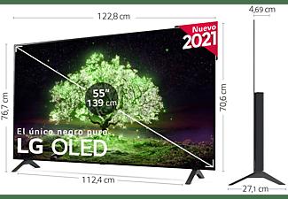 "TV OLED 55"" - LG OLED55A16LA, UHD 4K, SmartTV webOS 6.0, HDR DolbyVision, DolbyAtmos, Google Assistant, Negro"