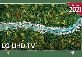 """TV LED 75"""" - LG 75UP77006LB.AEU, UHD 4K, QuadCore, webOS 6.0, Smart TV, Asistentes de voz, AI Sound"""