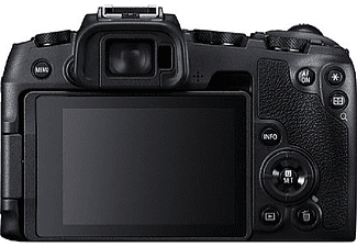 Cámara EVIL - Canon EOS RP, 26.2 MP, 7.50 cm, 4K, CMOS, WiFi, Bluetooth, 5 fps, Negro