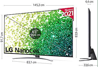 """TV LED 65"""" - LG 65NANO886PB.AEU, UHD 4K, α7 Gen4, NanoCell, webOS 6.0 Premium, Smart TV, HDR 10 Pro"""
