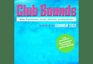 VARIOUS - Club Sounds Summer 2021  - (CD)