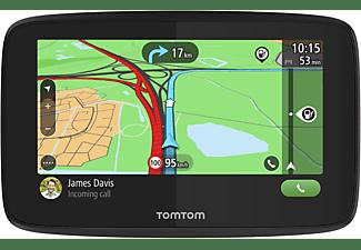 TOM TOM Navigationsgerät GO Essential (5 Zoll, Stauvermeidung dank TomTom Traffic, Europa, TMC)