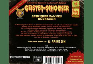 Geister-schocker - Schinderhannes Rückkehr-Vol.93  - (CD)