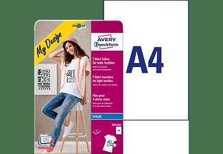 AVERY ZWECKFORM MD1001 Textil-Folien 210 x 297 mm 210 x 297 mm A4 Inhalt: 5 Bogen
