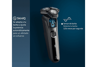 Afeitadora - Philips S5589/30, Autonomía 60 min, Cuchillas SteelPrecision, Cabezales flexibles 360-D, Marrón