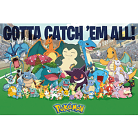 Pokémon Favorites Gotta catch 'em all!