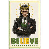 Loki Poster Believe Tom Hiddleston