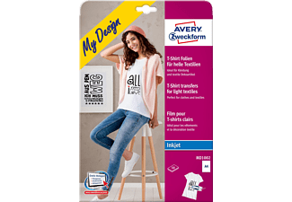 AVERY ZWECKFORM MD1002 Textil-Folien 210 x 297 mm 210 x 297 mm A4 Inhalt: 10 Bogen