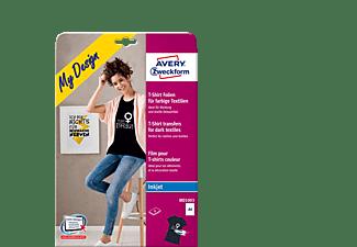 AVERY ZWECKFORM MD1003 für farbige Textilien, Textil-Folien 210 x 297 mm 210 x 297 mm A4 Inhalt: 4 Bogen
