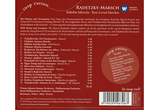 Daniel Barenboim, Leonard Bernstein, Georges Prêtre, André Previn, Riccardo Muti - Radetzky-Marsch: Beliebte Märsche  - (CD)