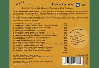 Luciano Pavarotti, Plácido Domingo, José Carreras - Tenor Festival: Pavarotti / Domingo / Carreras  - (CD)