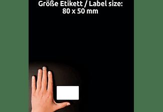 AVERY ZWECKFORM L4785-20, ablösbar, weiß, Namensetiketten 210 x 297 mm 80 x 50 mm A4 Inhalt: 200 Etiketten / 20 Bogen