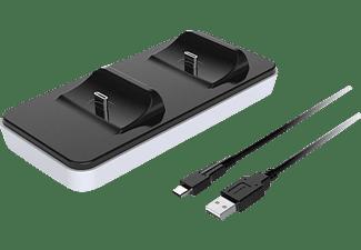 RAPTOR PS5 Charging Dockraptor - Gaming CS200 - LT, Zubehör für PS5, Schwarz/Weiß