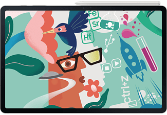 SAMSUNG TAB S7 FE 5G, Tablet, 64 GB, 12,4 Zoll, Mystic Silver