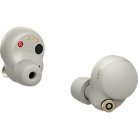 SONY True Wireless Bluetooth In-Ear Kopfhörer WF-1000XM4 mit Geräuschminimierung, silber