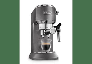 Cafetera express - DeLonghi EC 785.GY, 1300 W, 1l, 15 bar, Tecnología Thermoblock, Gris