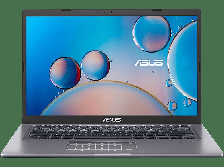 ASUS VivoBook D415UA-EB059T, Notebook mit 14,0 Zoll Display, AMD Ryzen 5 Prozessor, 16 GB RAM, 512 SSD, Radeon Graphics, Slate Grey