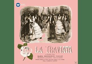 CALLAS/SANTINI - La Traviata (Studio-Rec.,1953)  - (Vinyl)