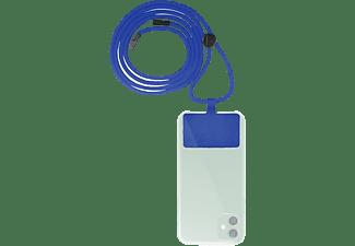 Cordón para móvil - Muvit MCGO00002, Universal, Azul
