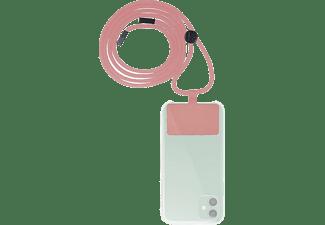 Cordón para móvil - Muvit MCGO00003, Universal, Rosa