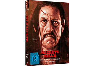 Machete Kills (Mediabook B) Blu-ray + DVD