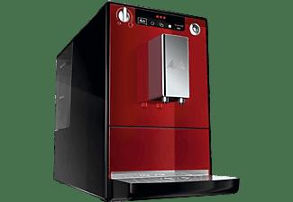 Cafetera superautomática - Melitta Caffeo Solo, 1400 W, 1.2 l, 15 bar, Función 2 Tazas, Rojo