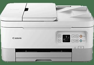Impresora multifunción - Canon TS7451, Color y B&N, Inyección de tinta, WiFi, 13 ppm, Copia y Escanea, Negro