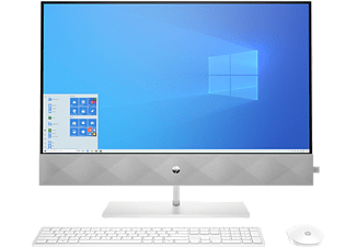 HP All-in-One PC Pavilion 27-d1901ng, i7-11700T, 16GB RAM, 512GB SSD, 27 Zoll, Weiß