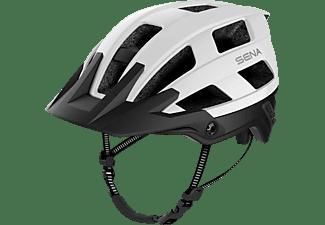 SENA M1-EVO-MW00L L (Fahrradhelm, 58-62 cm, Matt Weiss)