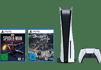 SONY PS5 +  Demon Souls + Marvel's Spider-Man: Miles Morales