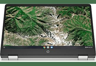 """Convertible x360 - HP Chromebook14a-ca0002ns, 14"""" FHD, Intel® Celeron® N4020, 4GB, 64GB, Chrome OS, Plata"""