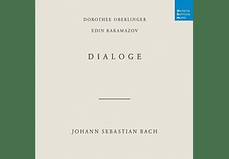 Dorothee Oberlinger y Edin Karamazov - Bach: Dialoge - CD