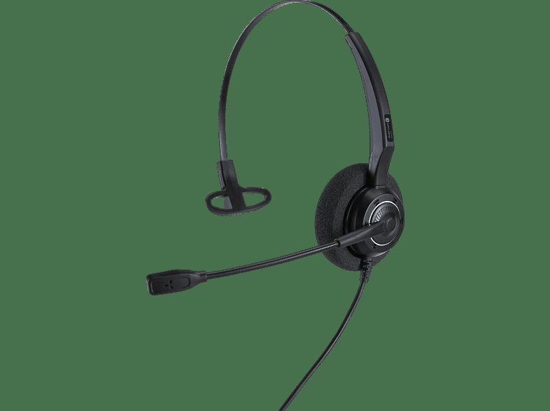 ALCATEL-LUCENT ALE AH 11 G Mono RJ9 Telefon-Headset Schwarz