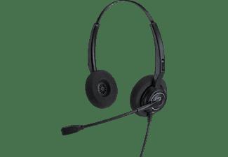 ALCATEL-LUCENT ALE AH 12 GA STEREO RJ9 Telefon-Headset Schwarz