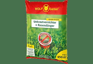 WOLF GARTEN SQ 450 Unkrautvernichter und Rasendünger Grün/Rot/Gelb