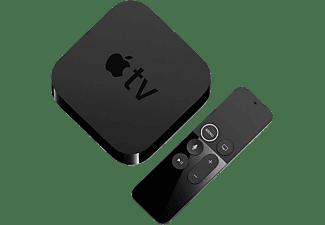 Apple TV 4K (1ª generación) 32 GB, Reproductor multimedia, Mando Apple TV Remote, Negro