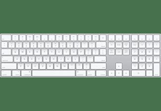 Apple Magic Keyboard, teclado inalámbrico numérico, Bluetooth, QWERTY Español, Plata