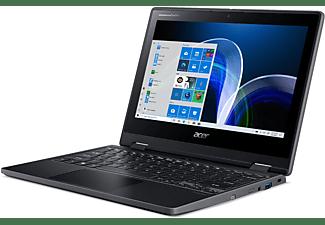 ACER TravelMate Spin B3 (TMB311RN-31-P5KK), Convertible mit 11,6 Zoll Display, 4 GB RAM, 128 GB SSD, Intel UHD Grafik 605, Schwarz