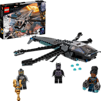 LEGO 76186 Black Panthers Libelle Bausatz, Mehrfarbig