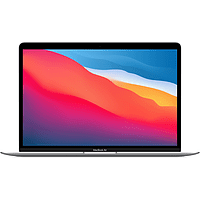 APPLE MacBook Air 13 Zoll, M1 Chip 8-Core und 7-Core GPU, 8GB RAM, 256GB SSD, Silber (MGN93D/A)