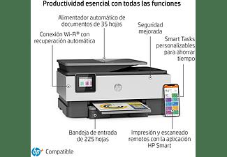 Impresora multifunción - HP OfficeJet Pro 8022e, Color, Wifi, 10 ppm, 6 meses de impresión Instant Ink con HP+