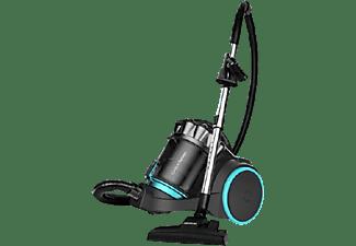 Aspirador sin bolsa - Cecotec Conga PopStar 3000 X-Treme Animal Pro, 800 W, 4 l, 74 dB, Negro