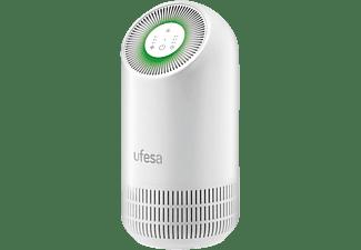 Purificadores de Aire - Ufesa PF3500, 3 niveles, 95 m³/h, 35 W, Filtro EPA, 30 db, Temporizador, Blanco