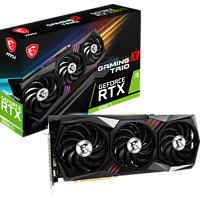 MSI GeForce RTX™ 3080 Ti GAMING X TRIO 12G LHR (V389-058R) (NVIDIA, Grafikkarte)